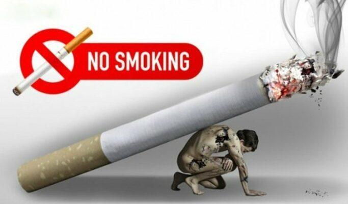 lưu ý khi hút thuốc lá