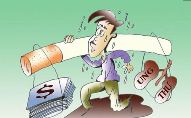 tác hại thuốc lá